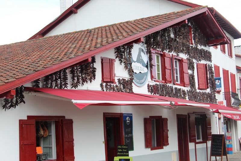 Compte rendu voyage for Photos maison basque